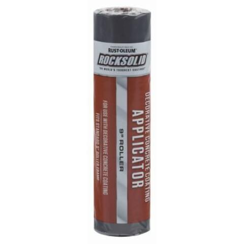 "Rust-Oleum 306214 RockSolid Decorative Concrete Coating Applicator, 9"""
