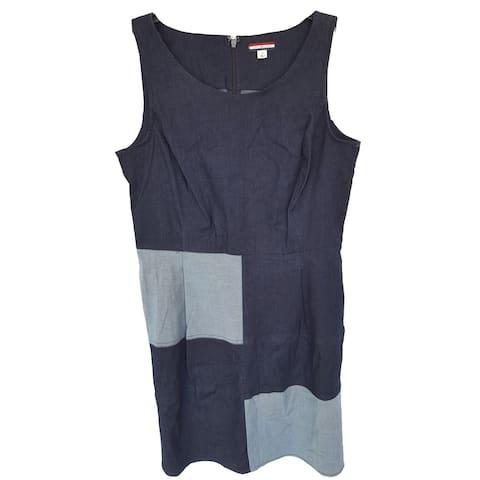 Tommy Hilfiger Stripe Sheath Dress, Navy, 10