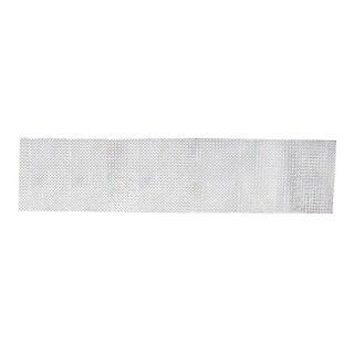 """Silver Rhinestone Flexible Craft Ribbon 4.5"""" x 2 Yards"""