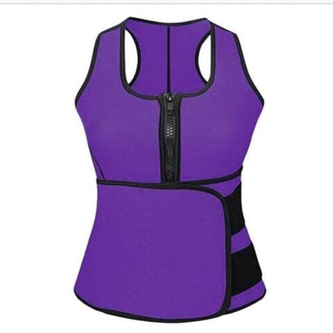 Women's Body Slimming Vest With Abdomen Strap Fitness Slim Waist Slimming Yoga Wear