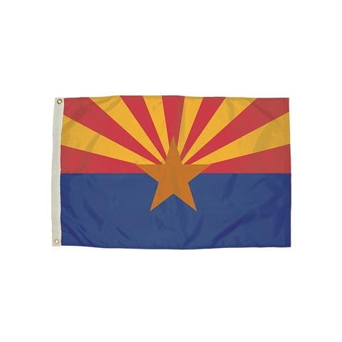 Independence flag 3x5 nylon arizona flag heading & 2022051
