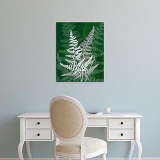 Easy Art Prints James Burghardt's 'Jewel Ferns IV' Premium Canvas Art