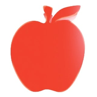 School Smart Apple Shaped Paper Clamp, Large, Assorted Color, Pack of 3