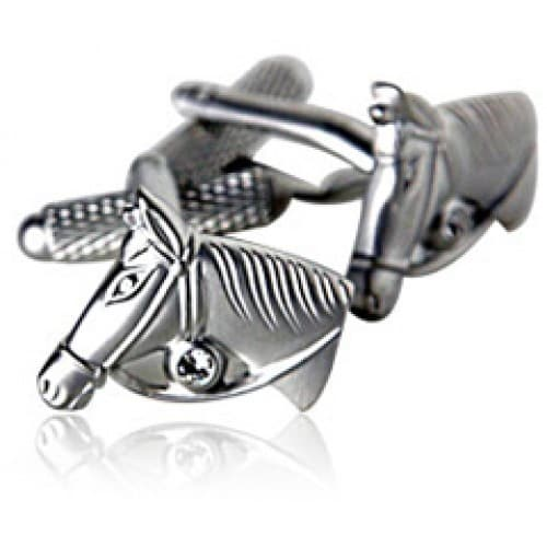 Horse Lover Animal Equesterian Cufflinks