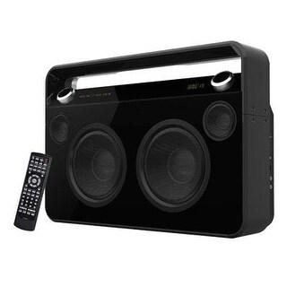 Supersonic Sc-1000Bt Wireless Bluetooth Boombox Style Portable Speaker (Black)
