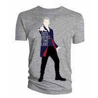 Doctor Who 12Th Doctor 100% Rebel Mens Shirt