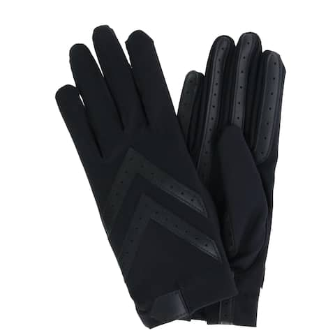 1a39e9d4a2f69 Isotoner Women's Unlined Touchscreen Leather Palm Driving Gloves