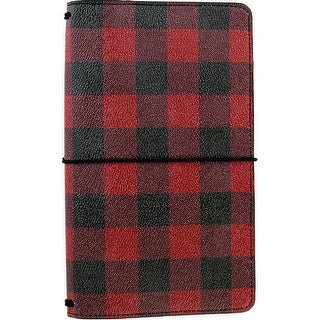 "Echo Park Traveler's Notebook 6""X9""-Buffalo Plaid"
