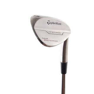 New TaylorMade Tour Preferred Wedge 58* (13* Bounce) RH w/ DG AMT Steel Shaft