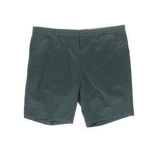 Dockers Mens Twill Flat Front Khaki, Chino Shorts - 34