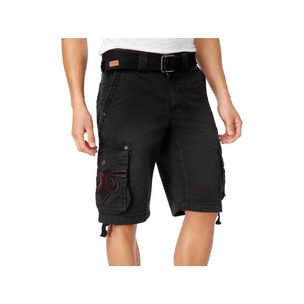 347d2efecd3 Shop Affliction Mens Cargo Shorts Casual Stretch - 38 - Free Shipping Today  - Overstock - 22485737