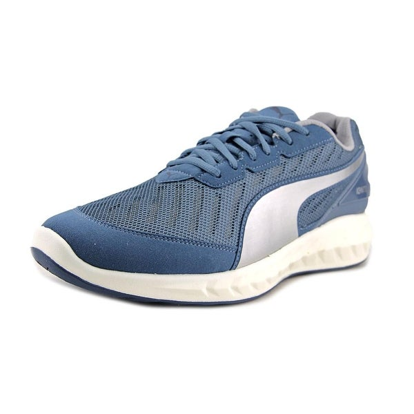 Puma Ignite Ultimate Men Round Toe Synthetic Gray Running Shoe