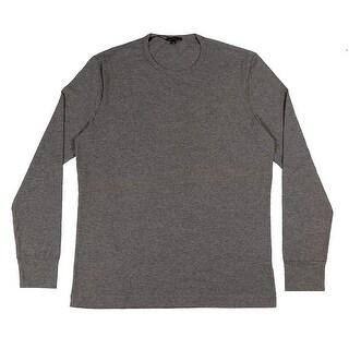 Gianfranco Ferre MANICA LUNGA GG Grey Cotton Blend Mens Underwear