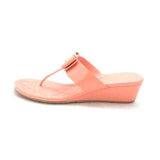 Cole Haan Womens 15A4015 Open Toe Casual Slide Sandals Pink Size 60