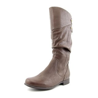 Hush Puppies Gianna Motive   Round Toe Synthetic  Mid Calf Boot