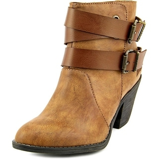 Blowfish Sworn Women  Round Toe Synthetic Tan Ankle Boot