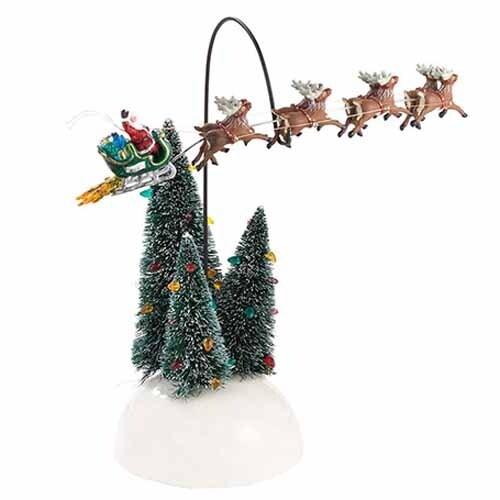 Animated Flaming Reindeer
