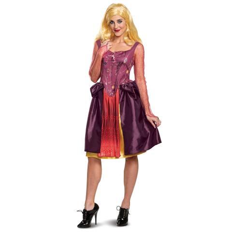 Womens Sarah Sanderson Adult Hocus Pocus Costume