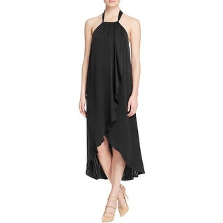 Ella Moss Womens Casual Dress Halter Open Back