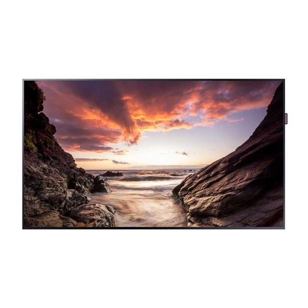 Samsung - Pm55f/55Inch/Led/1920X1080/500Nit/8Ms/Dvi-I(D-Sub Common), Display Port 1.2 (2),