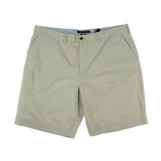 Tommy Hilfiger Mens Cotton Classic Fit Khaki, Chino Shorts