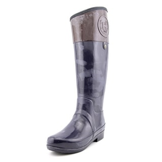 Hunter Sandhurst Carlyle Women Round Toe Synthetic Blue Rain Boot
