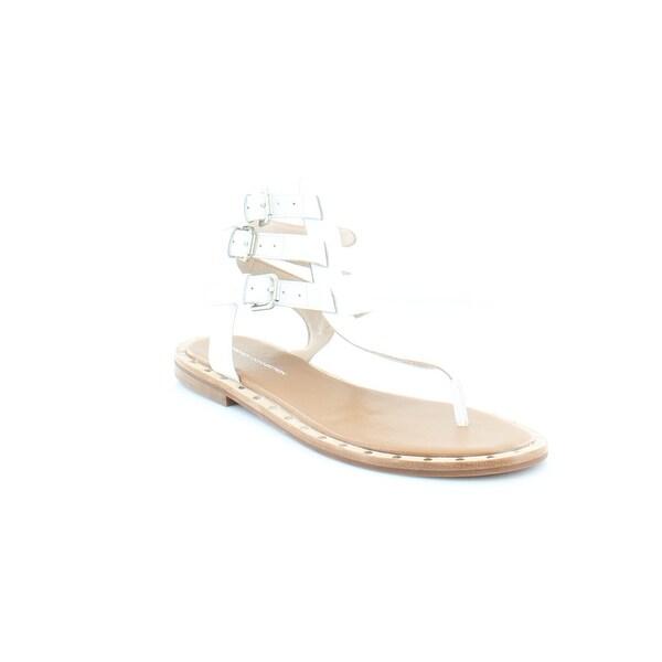 French Connection Imanna Women's Sandals & Flip Flops Summer White - 8.5