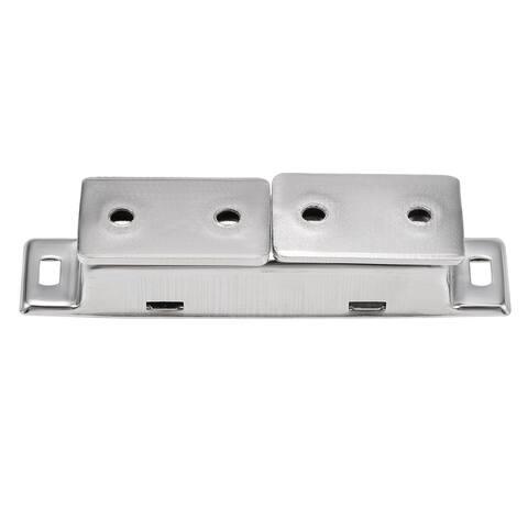 Magnetic Catch Latch Catch Latch Cabinet Closet Drawer Door - Silver - 1pcs