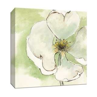 "PTM Images 9-153270  PTM Canvas Collection 12"" x 12"" - ""After Dogwood IV"" Giclee Flowers Art Print on Canvas"