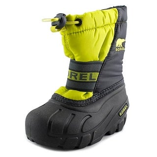 Sorel Cub Toddler Round Toe Synthetic Gray Snow Boot