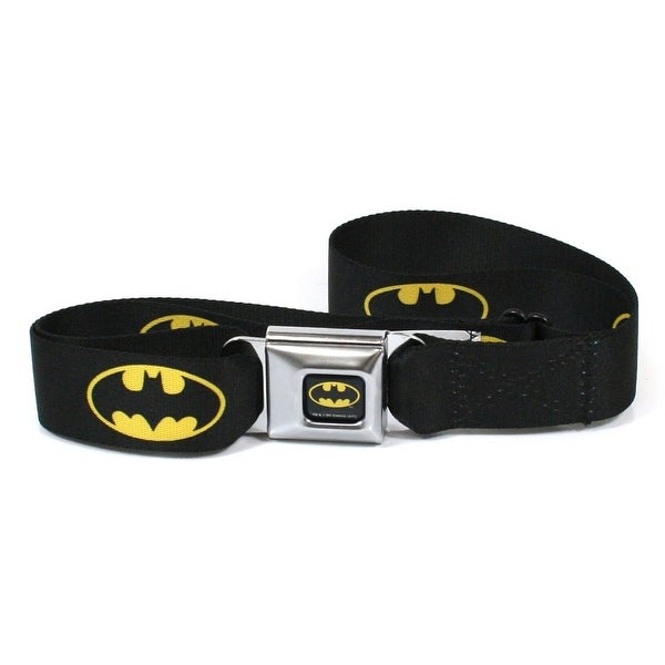 Batman Logo Seatbelt Belt-Holds Pants Up