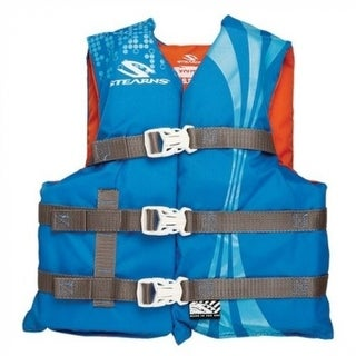 Stearns 3000002199 Youth Classic Vest, Blue & Orange