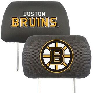 "NHL - Boston Bruins Head Rest Cover 10""x13"""