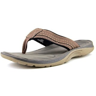 Chaps Gables Men Open Toe Synthetic Brown Thong Sandal