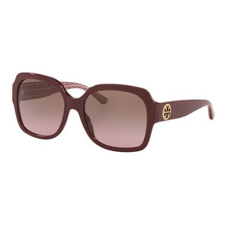 Link to Tory Burch TY7140 181514 57 Bordeaux Woman Square Sunglasses Similar Items in Women's Sunglasses