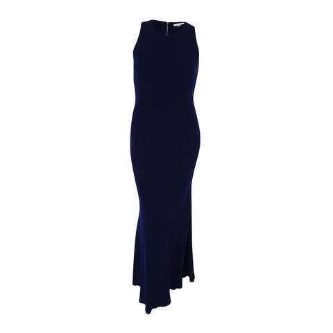 Calvin Klein Women's Racerback Cutout Gown (8, Twilight)
