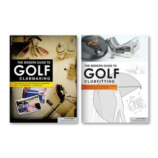 Modern Guide to Golf Clubmaking Book & Golf Clubfitting Book Bundle (Buy 1, Get Second ½ Off)