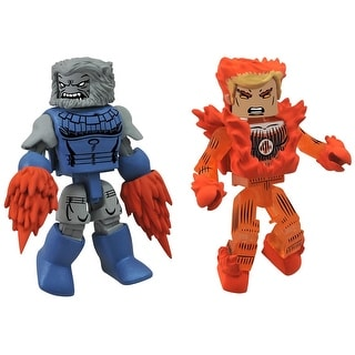 Marvel Minimates Series 48 Human Torch & Blastarr