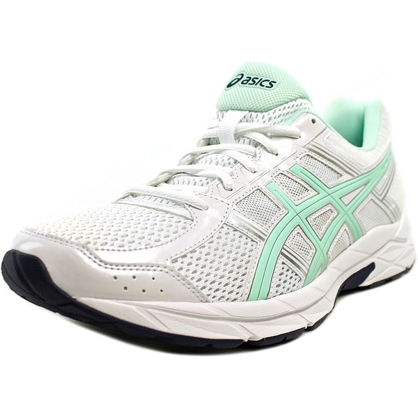 Asics Gel-Contend 4 Women White/Bay/Silver Running Shoes