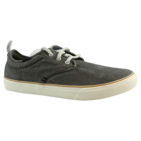 Sanuk Mens 1016635 WashedBlack Fashion Shoes Size 7