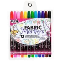 Tulip Fine Fabric Markers 12/Pkg