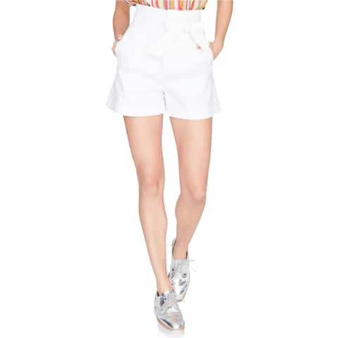 Rachel Roy Womens Tie-Front Casual Walking Shorts