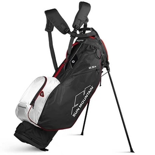 New 2020 Sun Mountain 2 5 Stand Bag Black White Red Black White Red