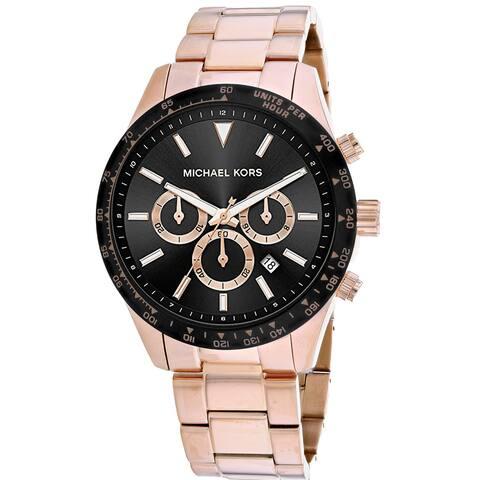Michael Kors Men's Layton Black Dial Watch - MK8824 - One Size