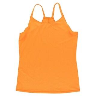 Oiselle Womens Go Tank Top Orange