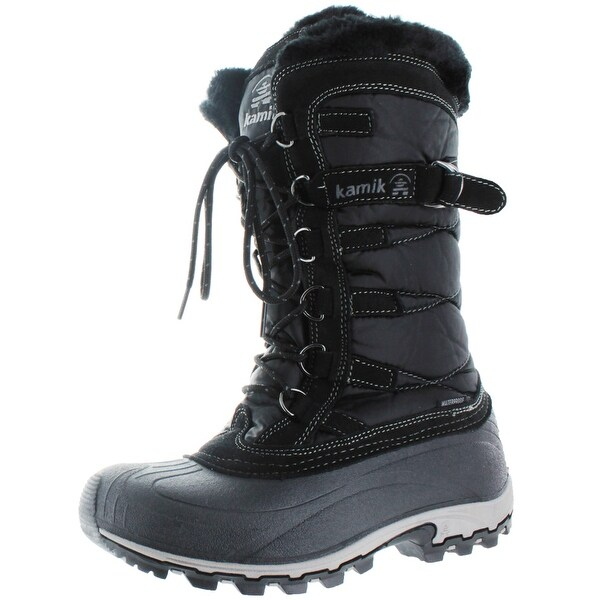 Kamik Snowvalley Women's Waterproof Nylon Snow Boots