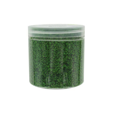 30050310 darice grass in jar mini accent 1oz dark green