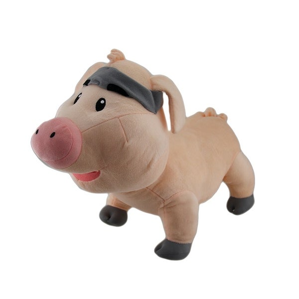Truffles the Plush Fruit Ninja Pig Stuffed Animal