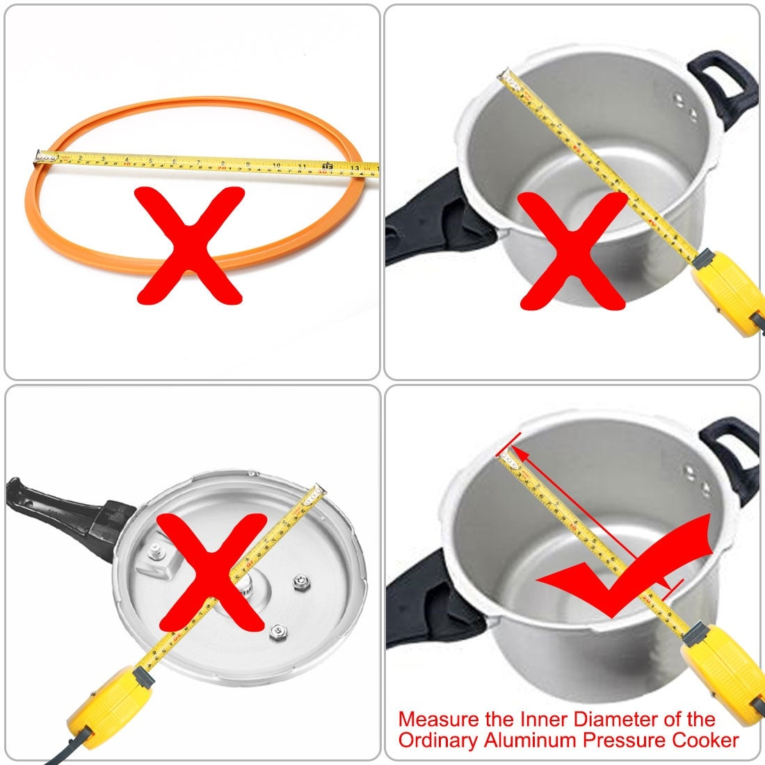 NEW 26cm Replacement Silicone Rubber Sealing Gasket Ring for Pressure Cooker