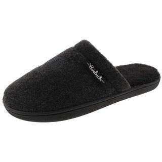 Woolrich Mens Chatam Camp Clog Slippers Fleece Comfort - 10 medium (d)